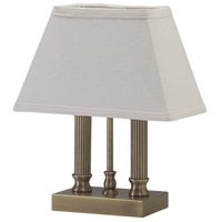 House of Troy Coach 1 Light Table Lamp in Antique Brass CH876-AB