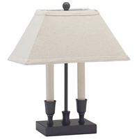 Coach 15 inch 60 watt Oil Rubbed Bronze Table Lamp Portable Light