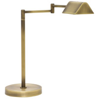 Delta 18 inch 6 watt Antique Brass Desk Lamp Portable Light