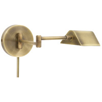 Delta 21 inch 6 watt Antique Brass Task Wall Lamp Wall Light
