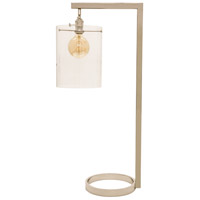 House of Troy D350-PN-G Danby 32 inch 100 watt Polished Nickel Table Lamp Portable Light photo thumbnail