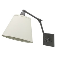 Classic Contemporary 17 inch 100 watt Oil Rubbed Bronze Library Wall Lamp Wall Light