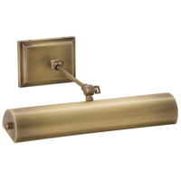House of Troy DOXLEDZ16-AB Oxford 4.5 watt 16 inch Antique Brass Picture Light Wall Light