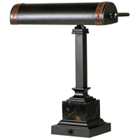House of Troy DSK440-MBAC Steamer 13 inch 60 watt Mahogany Bronze/Antique Copper Desk Lamp Portable Light photo thumbnail