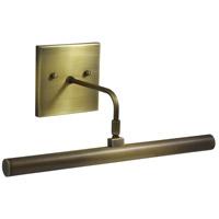 House of Troy DSLEDZ14-71 Slim-line 4.5 watt 14 inch Antique Brass Picture Light Wall Light in 4.75