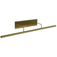 House of Troy DSLEDZ43-51 Slim-line 13.5 watt 43 inch Satin Brass Picture Light Wall Light
