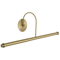 Slim-line 9 watt 30 inch Satin Brass Picture Light Wall Light