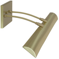 Zenith 13.5 watt 36 inch Satin Brass Picture Light Wall Light, Direct Wire