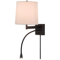 House of Troy ECO425-OB Eco 17 inch 100 watt Oil Rubbed Bronze Wall Swing Arm Wall Light photo thumbnail