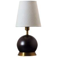 Geo 12 inch 60 watt Mahogany Bronze/Weathered Brass Mini Accent Lamp Portable Light