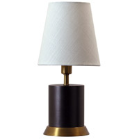 House of Troy GEO311 Geo 12 inch 60 watt Mahogany Bronze/Weathered Brass Mini Accent Lamp Portable Light photo thumbnail