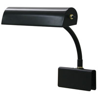 House of Troy Grand Piano 1 Light Piano Lamp in Black GP10-7
