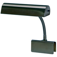 House of Troy GP10-81 Grand Piano 9 inch 40 watt Mahogany Bronze Piano Lamp Portable Light