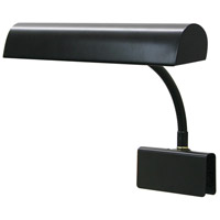 House of Troy GP14-7 Grand Piano 9 inch 40 watt Black Piano Lamp Portable Light