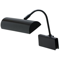 House of Troy Grand Piano 1 Light Piano Lamp in Black GPH10-BLK