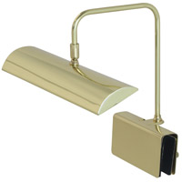 House of Troy GPZLEDZ12-61 Zenith 4 inch 4.5 watt Polished Brass Piano Lamp Portable Light