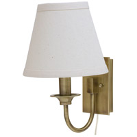 Greensboro 1 Light 7 inch Antique Brass Wall Lamp Wall Light