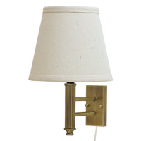 House of Troy Greensboro 1 Light Wall Lamp in Antique Brass GR902-AB