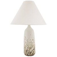 House of Troy GS100-DWG Scatchard 25 inch 150 watt Decorated White Gloss Table Lamp Portable Light photo thumbnail