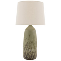 Scatchard 29 inch 150 watt Decorated Celadon Table Lamp Portable Light