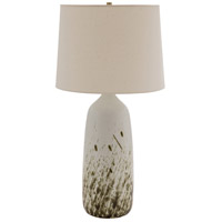 House of Troy GS101-DWG Scatchard 29 inch 150 watt Decorated White Gloss Table Lamp Portable Light photo thumbnail