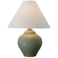 Scatchard 22 inch 150 watt Celadon Table Lamp Portable Light