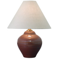 House of Troy Scatchard 1 Light 22-in Table Lamp in Iron Red GS130-IR