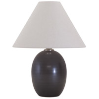 House of Troy Scatchard 1 Light Table Lamp in Black Matte GS140-BM