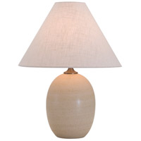 House of Troy GS140-OT Scatchard 23 inch 150 watt Oatmeal Table Lamp Portable Light photo thumbnail