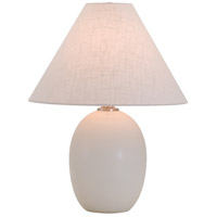 House of Troy Scatchard 1 Light Table Lamp in White Matte GS140-WM