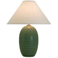 House of Troy Scatchard 1 Light Table Lamp in Green Matte GS150-GM