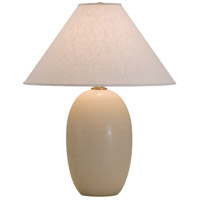 House of Troy Scatchard 1 Light Table Lamp in Oatmeal GS150-OT