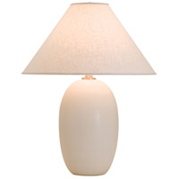 House of Troy Scatchard 1 Light Table Lamp in White Matte GS150-WM
