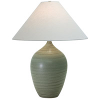 House of Troy Scatchard 1 Light Table Lamp in Green Matte GS190-GM
