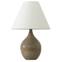 House of Troy Scatchard 1 Light Table Lamp in Tigers Eye GS200-TE
