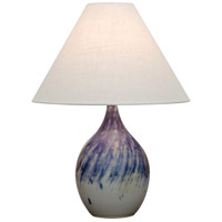 House of Troy GS300-DG Scatchard 24 inch 100 watt Decorated Gray Table Lamp Portable Light in 23.5 photo thumbnail