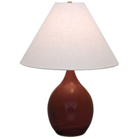 Scatchard 24 inch 100 watt Copper Red Table Lamp Portable Light in 23.5