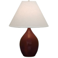 House of Troy Scatchard 1 Light 28-in Table Lamp in Copper Red GS400-CR