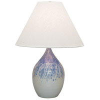 House of Troy Scatchard 1 Light 28-in Table Lamp in Decorated Gray GS400-DG