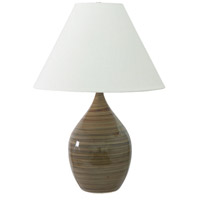 House of Troy Scatchard 1 Light Table Lamp in Tigers Eye GS400-TE