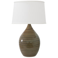 House of Troy GS402-TE Scatchard 25 inch 200 watt Tigers Eye Table Lamp Portable Light in Tiger's Eye photo thumbnail