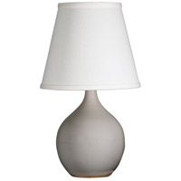 House of Troy GS50-GG Scatchard 14 inch 150 watt Gray Gloss Mini Accent Lamp Portable Light photo thumbnail