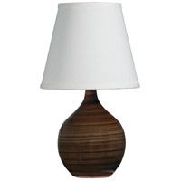 House of Troy GS50-TE Scatchard 14 inch 150 watt Tigers Eye Mini Accent Lamp Portable Light photo thumbnail
