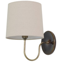 Scatchard 1 Light 9 inch Brown Gloss Wall Lamp Wall Light