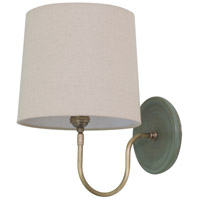Scatchard 1 Light 9 inch Green Matte Wall Lamp Wall Light