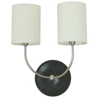 House of Troy Scatchard 2 Light Wall Lamp in Black Matte GS775-2-SNBM
