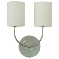 House of Troy Scatchard 2 Light Wall Lamp in Gray Gloss GS775-2-SNGG