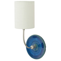 House of Troy Scatchard 1 Light Wall Lamp in Blue Gloss GS775-SNBG