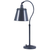 House of Troy Hyde Park 1 Light Table Lamp in Oil Rubbed Bronze HP750-OB-MSOB