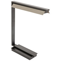 House of Troy JLED550-GT Jay 19 inch 4.5 watt Granite with Satin Nickel Table Lamp Portable Light photo thumbnail